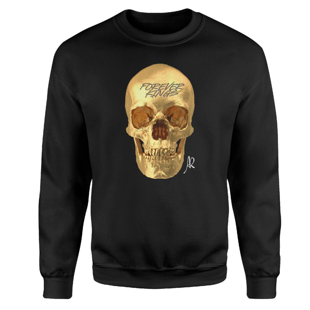Forever Kings Crewneck Sweatshirt - Black