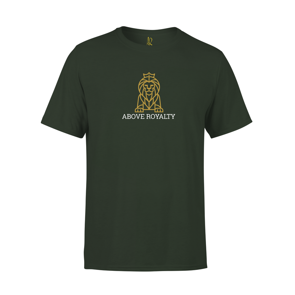Statue of Lions Short Sleeve Tee - Olive