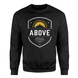 Pinnacle Crewneck Sweatshirt - Black