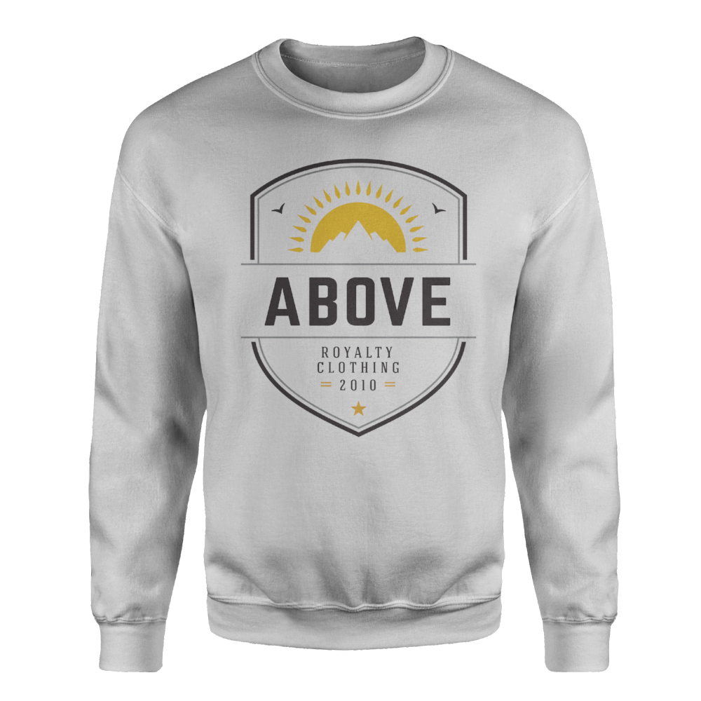Pinnacle Crewneck Sweatshirt - Grey