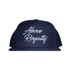 Scripts 6-Panel Snapback Cap - Navy