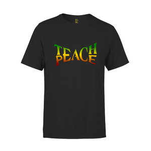 Teach Peace Short Sleeve Tee - Black