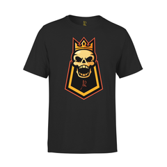 Internal King Short Sleeve Tee - Black