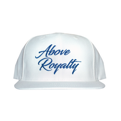 Scripts 6-Panel Snapback Cap - White