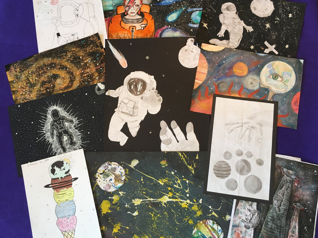 Space Art Competition Winners