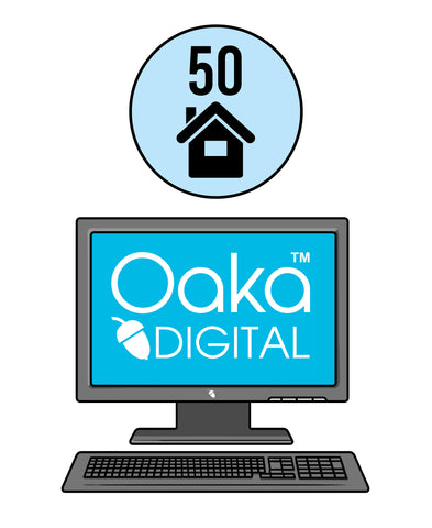 Oaka Digital Home Educator Group Licence (50 students)
