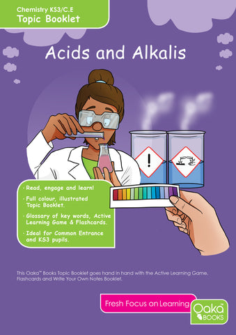 CE/KS3: Science: Chemistry: Acids, Alkalis & Indicators