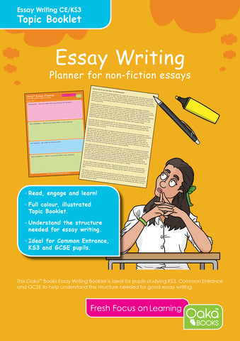 Write a Great Essay - Colour Coded Essay Planner