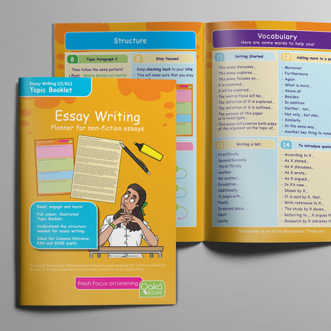 write a great essay   colour coded essay planner download  oaka books write a great essay   colour coded essay planner download