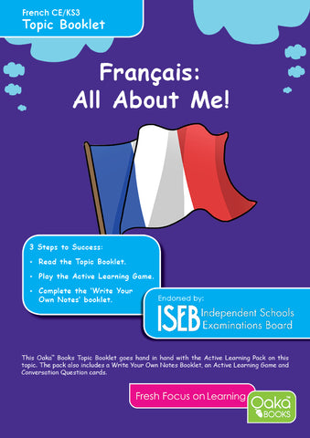 CE/KS3 French: All About Me