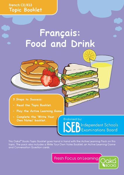 CE/KS3 French: Food & Drink