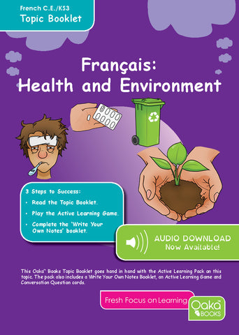 CE/KS3 French: Health & Environment