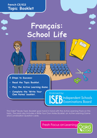 CE/KS3 French: School Life