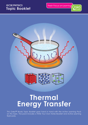 GCSE/KS4 Physics: Thermal Energy Transfer - PRE-ORDER NOW