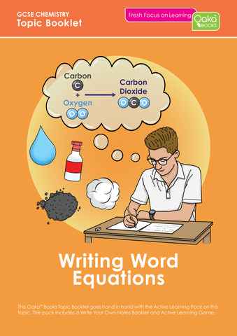 GCSE/KS4 Chemistry: Writing Word Equations - PRE-ORDER NOW
