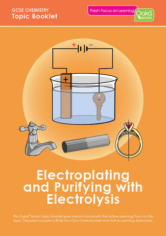 GCSE/KS4 Chemistry: Electroplating & Purifying with Electrolysis AVAILABLE NOW!