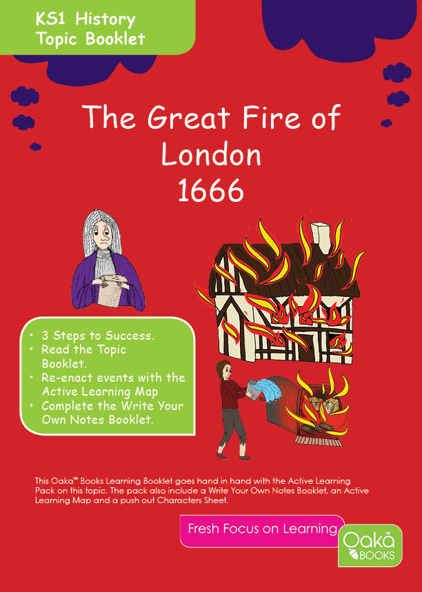 Ks1 History Great Fire Of London Oaka Books