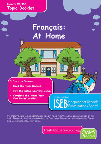 CE/KS3 French: At Home