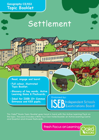 CE/KS3 Geography: Settlement