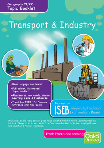 CE/KS3 Geography: Transport and Industry (previously Economic Activity)