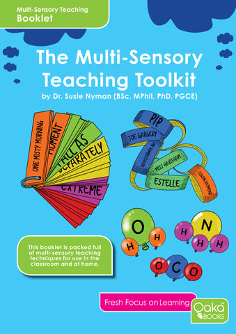 Dr Susie Nyman's Multi-Sensory Teaching Toolkit - TEACHER MUST HAVE!