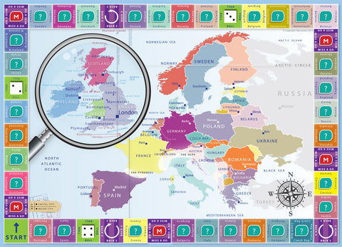 On The Map  The Global Locations Game  Oaka Books