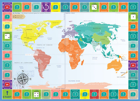 On the map the global locations game oaka books ceks3 geography on the map the global locations game gumiabroncs