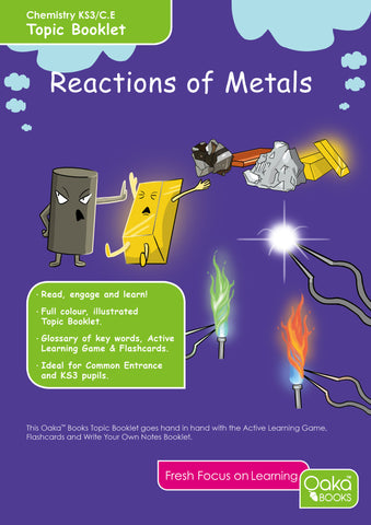 CE/KS3: Science: Chemistry: Reactions of Metals
