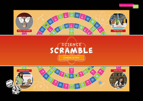 CE/KS3 Science Scramble Chemistry (£29.98 inc. VAT)
