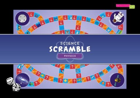 CE/KS3 Science Scramble Physics (£29.98 inc. VAT)
