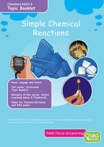 CE/KS3: Science: Chemistry: Simple Chemical Reactions.