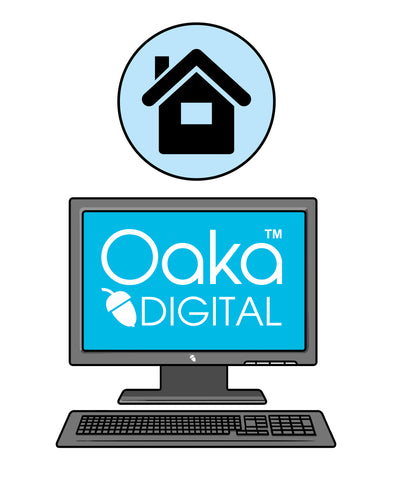 Oaka Digital Home/Single Site Licence - 60% DISCOUNT - NOW JUST £59.00 for 12 months