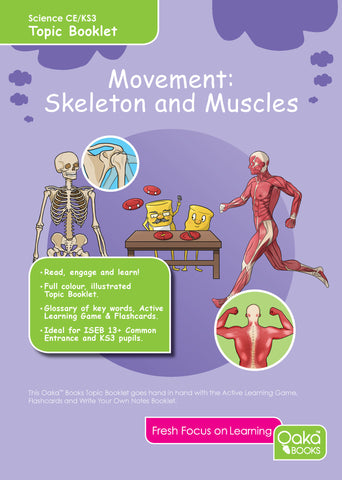 CE/KS3: Science: Biology: Movement: Skeletons & Muscles.