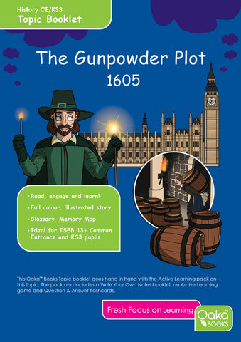 CE/KS3 History: The Gunpowder Plot AVAILABLE FROM 7/7/2020