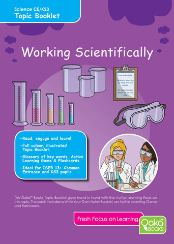 CE/KS3: Science: Chemistry: Working Scientifically