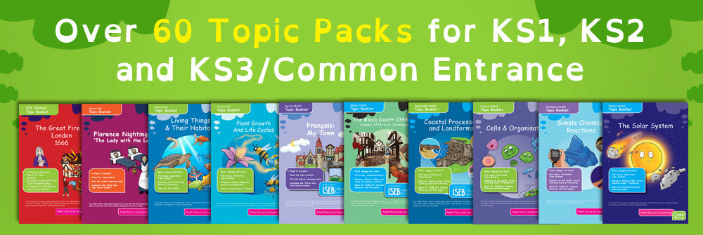 Oaka Books Geography Revision Packs
