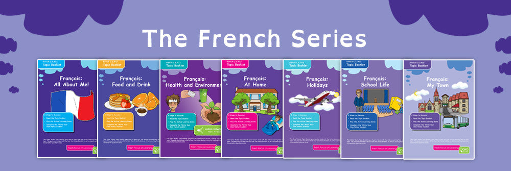 Oaka Books French Revision Packs