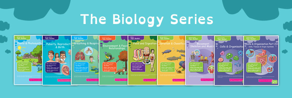 Oaka Books KS3 Science Revision Packs