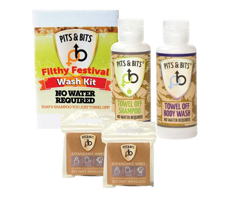Pits & Bits - Waterless Wash Kit
