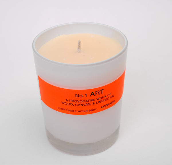 SCENTED CANDLE - No.1 ART