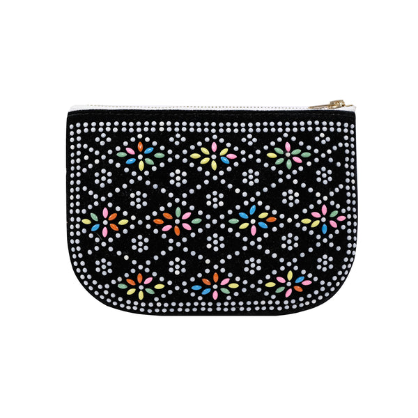 PLAY PURSE BEADED POUCH BLACK