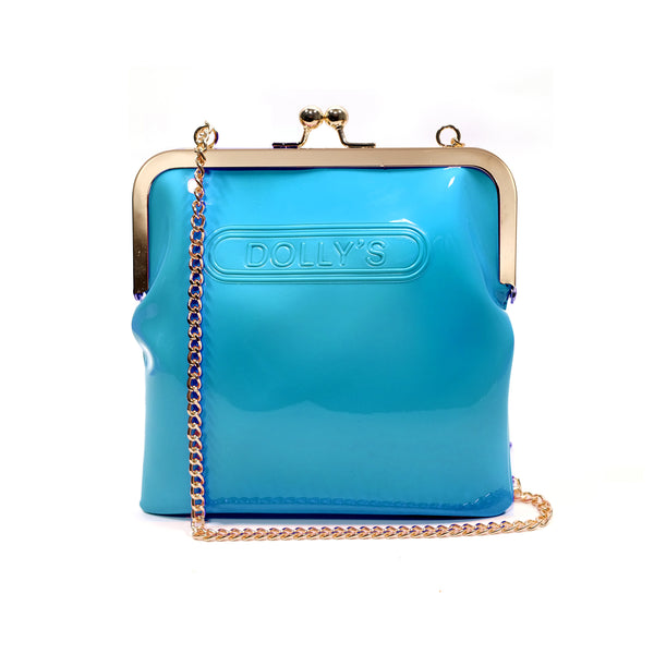 DOLLY'S CHAIN PURSE ATOMIC BLUE