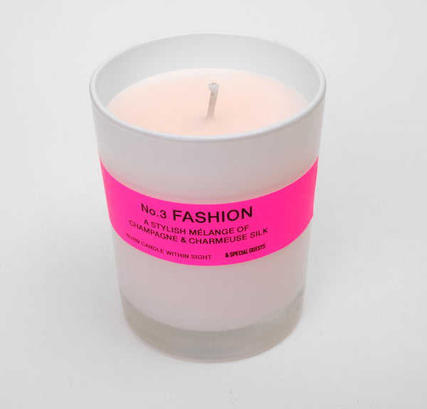 SCENTED CANDLE - No.3 FASHION