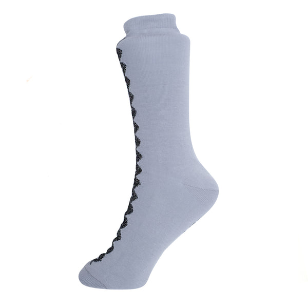 RIC-RAC SOCKS IN GREY
