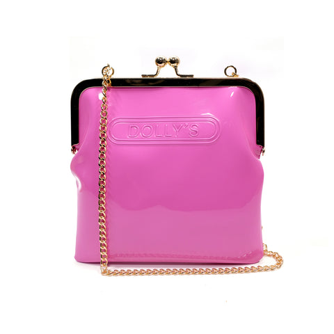 DOLLY'S CHAIN PURSE PRISCILLA PINK