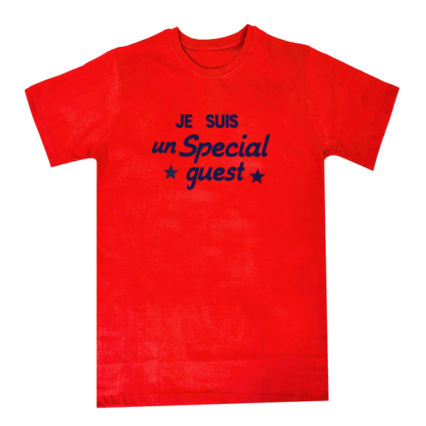 JE SUIS RED T-SHIRT