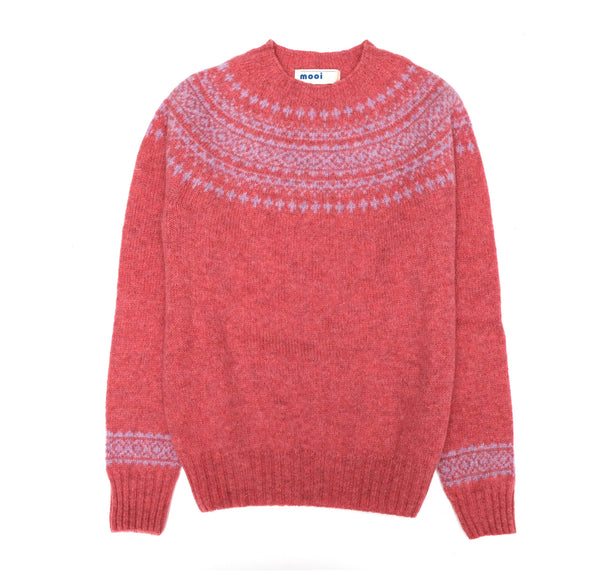 MOOI SWEATER IN ROSE