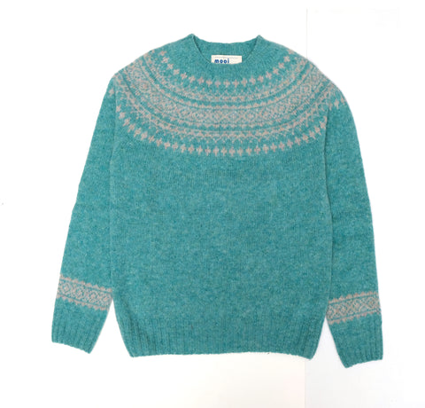 MOOI SWEATER IN SEA FOAM