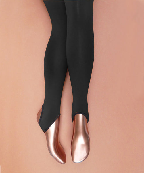 Black Skater Tights BY MARIA LA ROSA