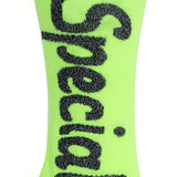 JE SUIS SPECIAL SOCKS NEON YELLOW-GREEN